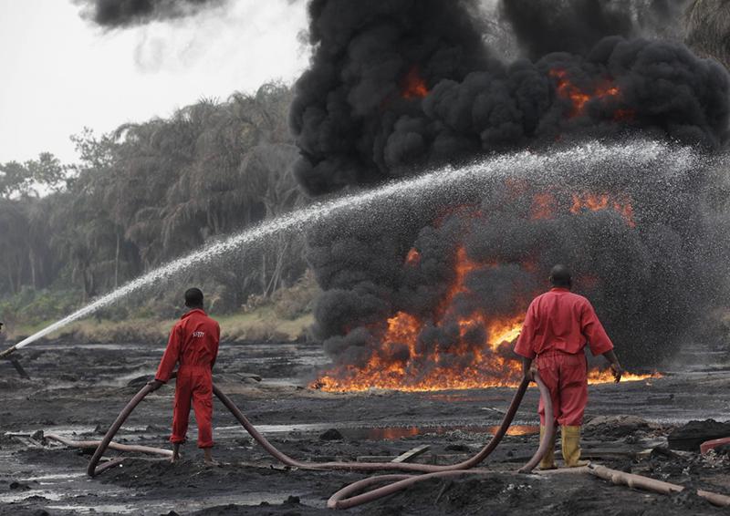 Leaking Nigeria pipeline explodes, killing at least 19