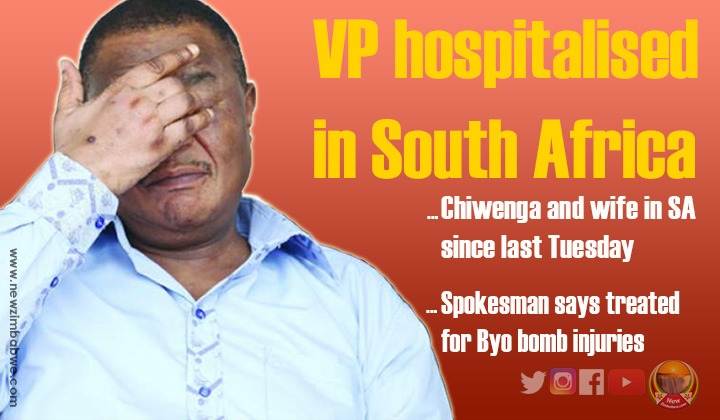 VP Chiwenga 'barking orders' from SA hospital; as SB Moyo not seen in public for 3 weeks