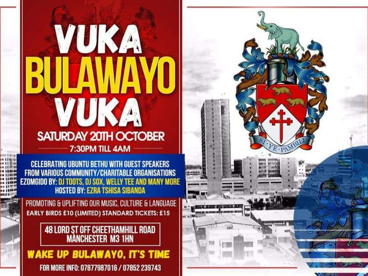 UK: Express Links International headline sponsor for Vuka Bulawayo Vuka