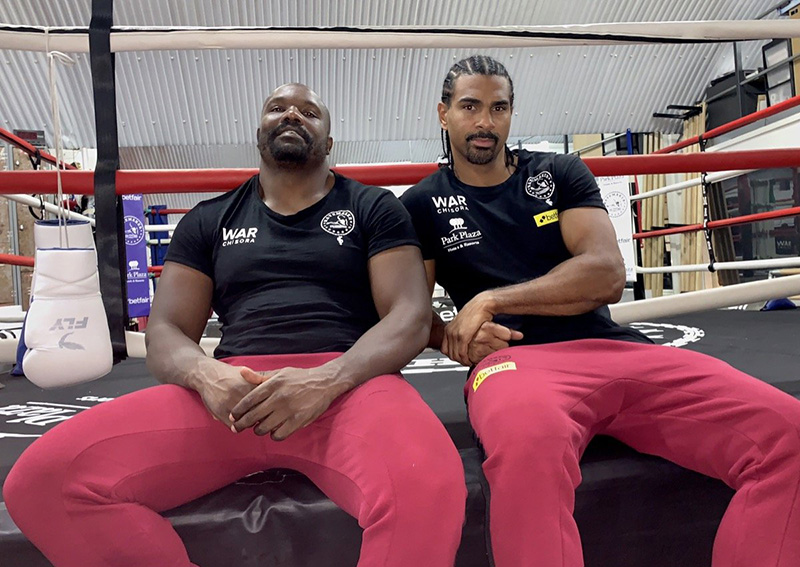 Chisora surprisingly names ex-rival David Haye his new manager… reveals new nickname