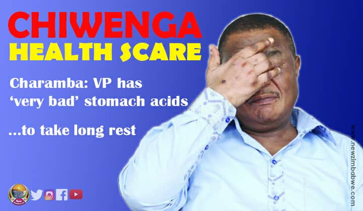 Chiwenga on 'special diet' as spokesperson hints VP battling serious ailment
