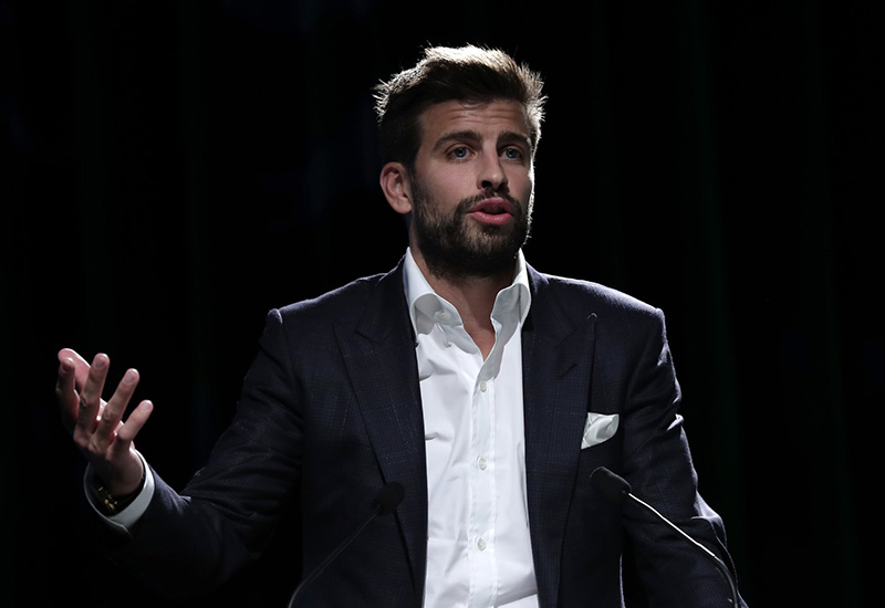 Gerard Pique juggles business with soccer at Barcelona; leads investment group Kosmos
