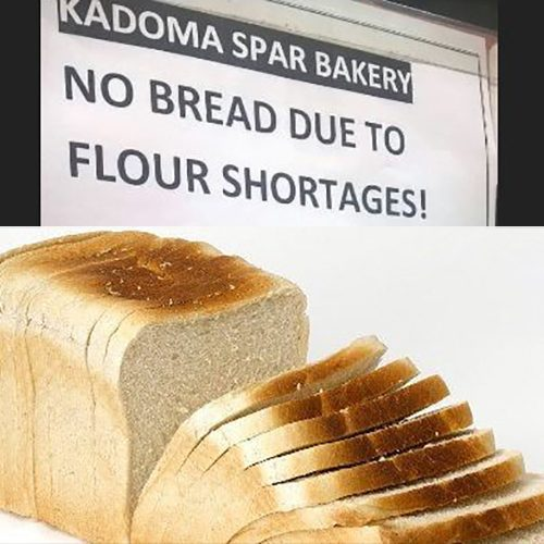 Bread shortage looms as flour stocks drop to one week's supplies