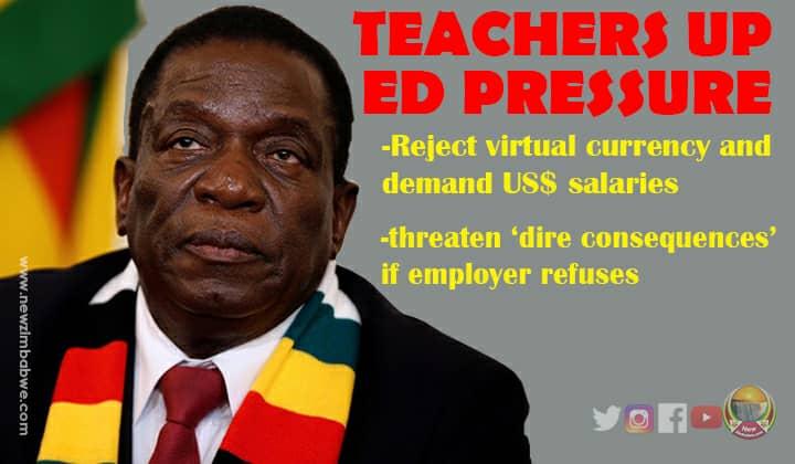 Teachers demand salaries in US$; threaten dire consequences