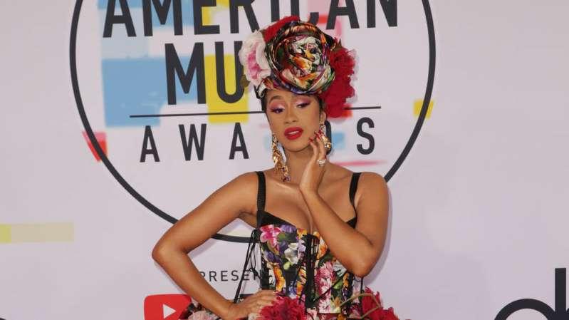 Cardi B denies preparing diss track about rap rival Nicki Minaj