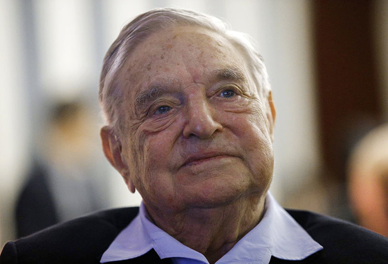 Explosive device found at NY home of billionaire Soros