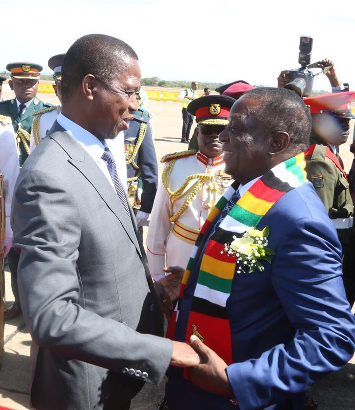 LUSAKA: Zimbabwe, Zambia sign cooperation agreements