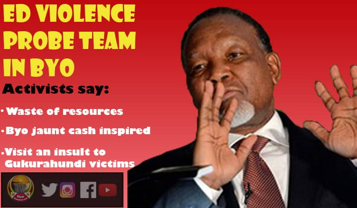 Motlanthe led violence probe team flies into Gukurahundi storm in Bulawayo, 'why probe 6 deaths and not 20 000', activists ask