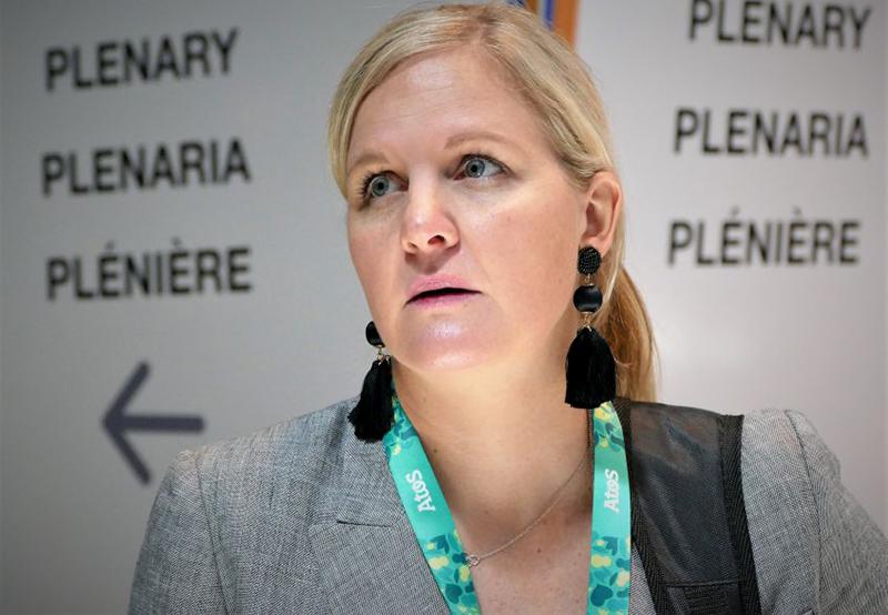 Sports Minister Kirsty Coventry denies quitting her job