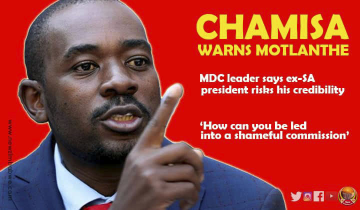 No 'People's President inauguration' for Chamisa; MDC leader hits out at Motlanthe inquiry