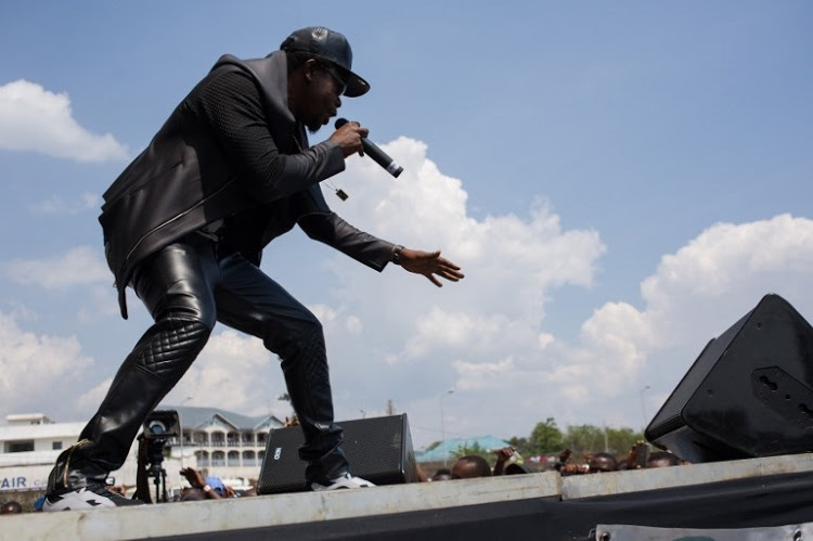 'We've got the power!' In DRC, rap moves to take on rumba