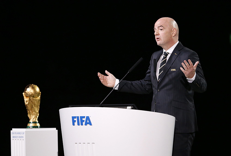 FIFA leader Infantino wins SE Asia support for re-election