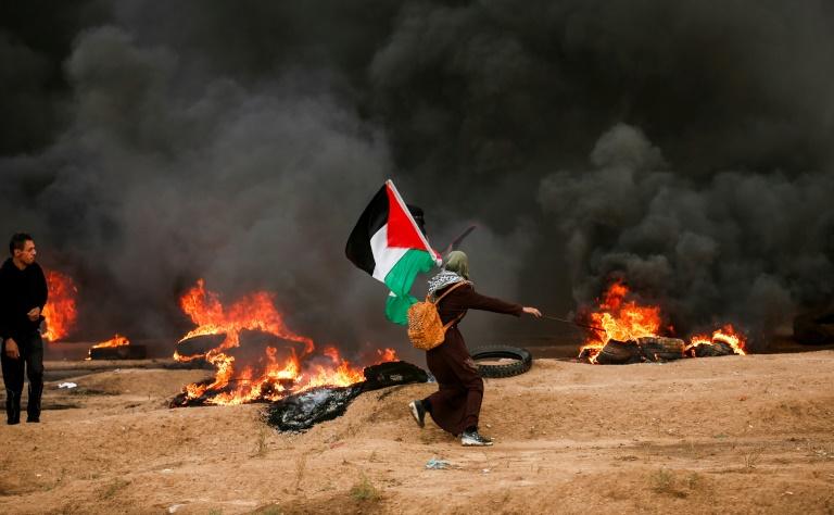Gaza rockets hit Israel after 5 Palestinians killed in border flareup