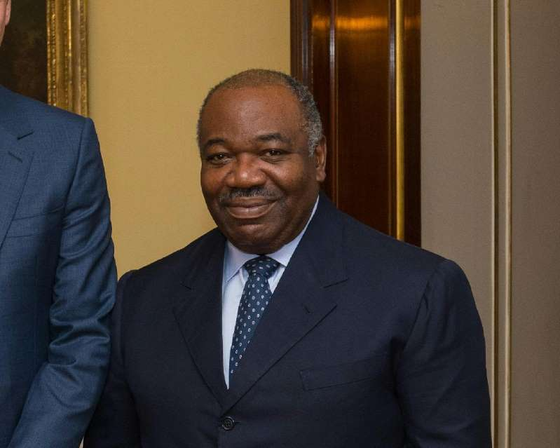 Gabon president hospitalised 'due to exhaustion'