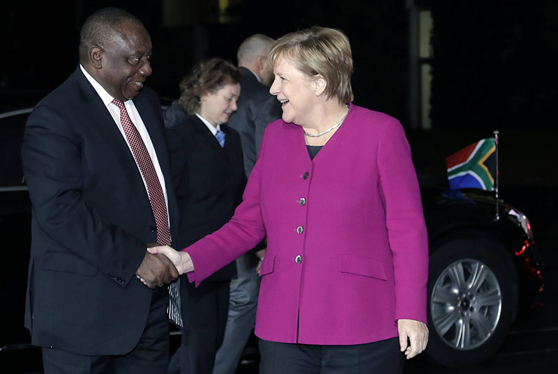African leaders meet in Germany at development summit