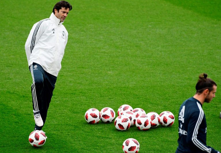 Solari 'grateful and excited' to coach Real Madrid but rejects comparison with Zidane