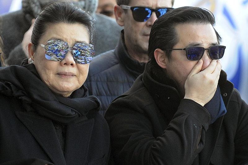 Son of chopper crash Leicester owner vows to carry on father's legacy