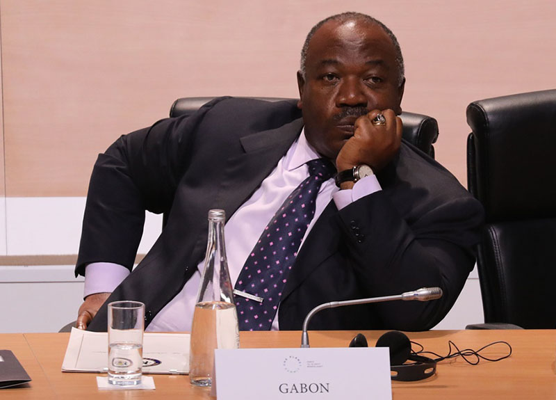 Gabon suspends Cameroon TV station over 'fake' President Bongo death report