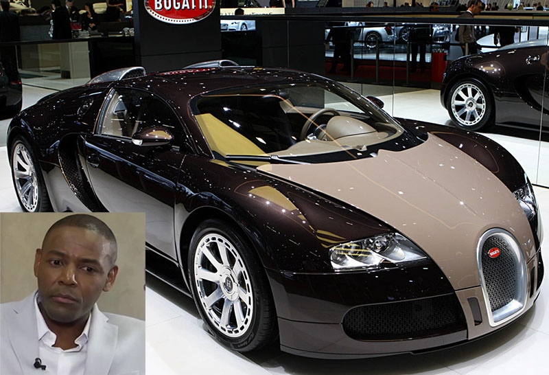 Buyanga moves his Bugatti from Zim to SA; $3m motor turns heads in Johannesburg