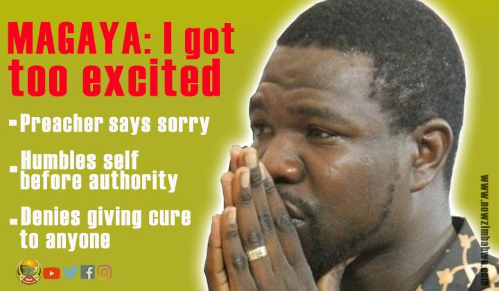 WATCH: Magaya apologises for 'rushed' HIV/Aids 'cure' claims, says was overwhelmed by 'excitement'