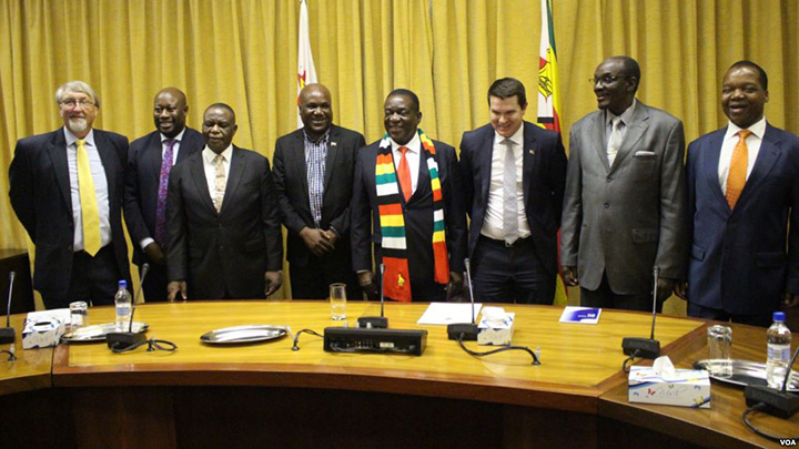 Mnangagwa says Australian firm finds oil, gas in Zimbabwe