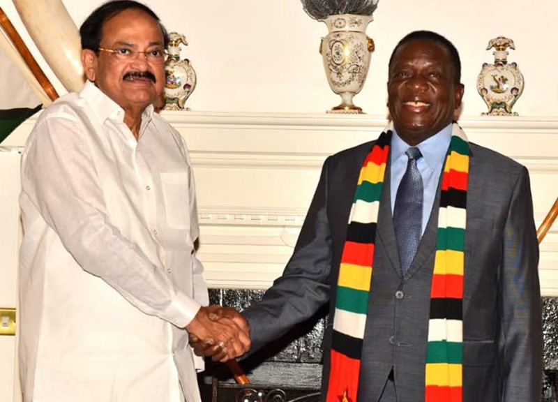 PICTURES: ED meets India Vice President; six agreements signed
