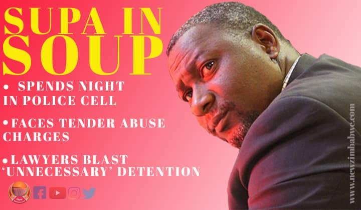 Mandiwanzira locked up at the notorious Matapi police