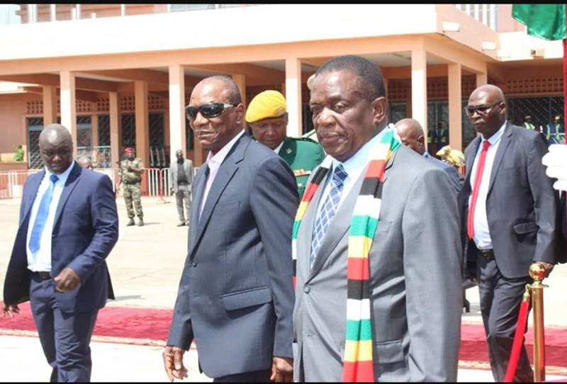 ED VISIT: Zimbabwe and Guinea to deepen economic cooperation