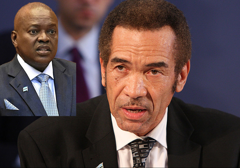 President and predecessor feud in proudly stable Botswana