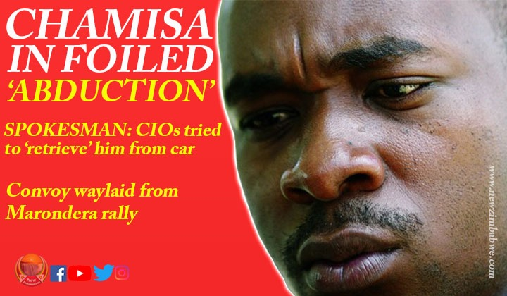 WATCH: Chamisa survives dramatic abduction attempt by 'CIO'