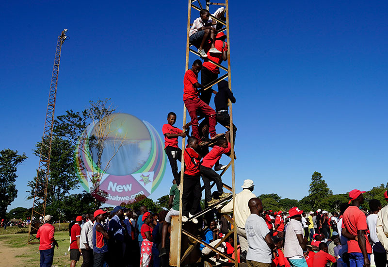 MDC Marondera rally in pictures