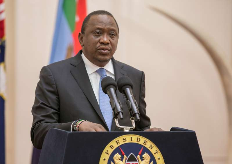 End Zimbabwe sanctions, says Kenyatta