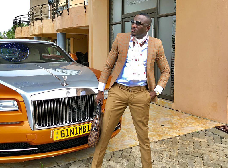BREAKING: Popular Businessman, Socialite Ginimbi Dies In Car Accident