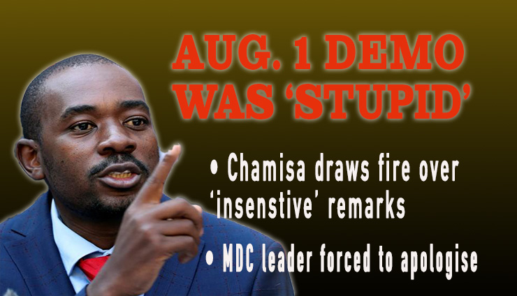 WATCH: Chamisa throws followers under the bus, calls Aug 1 protests 'stupid', summoned before violence inquiry