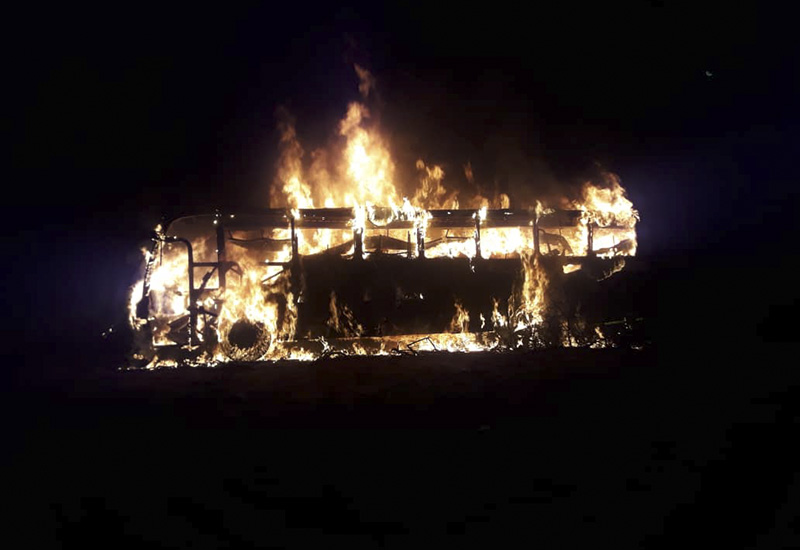 LATEST: 42 feared dead as bus bursts into flames in Mat South