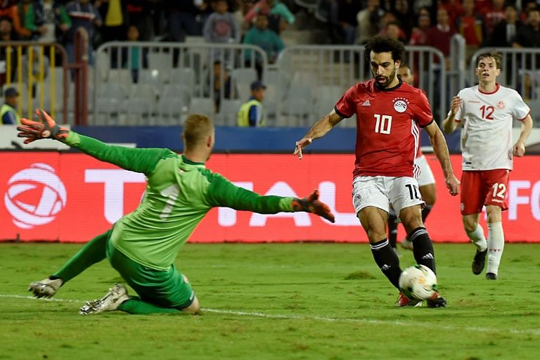 Salah snatches winner as Egypt edge Tunisia in Cup of Nations