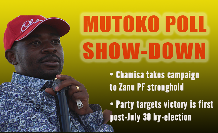 Chamisa invades Zanu PF stronghold for campaign rally
