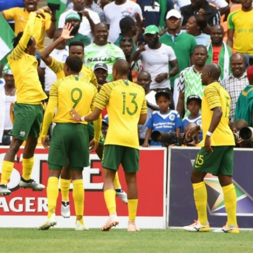 Draw against Nigeria leaves Bafana on an Afcon tightrope