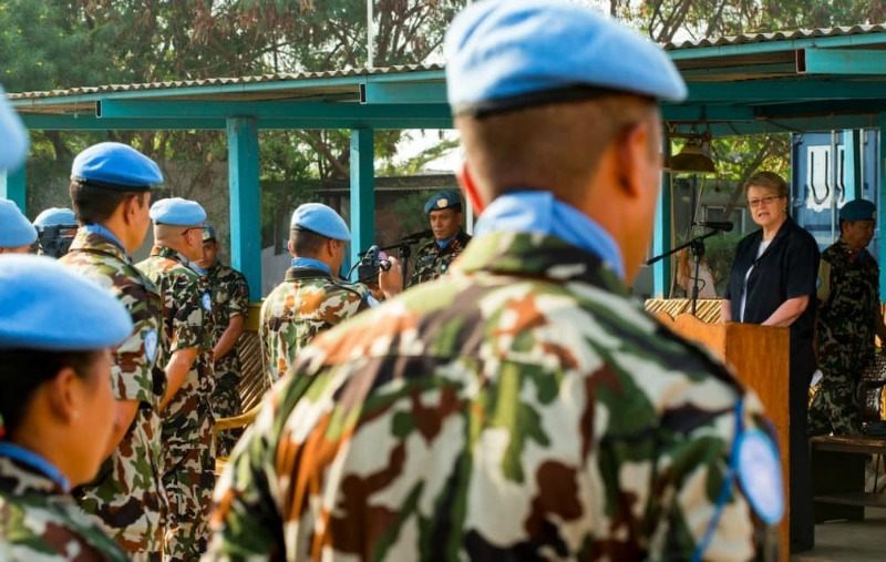 Seven UN peacekeepers killed in eastern DR Congo