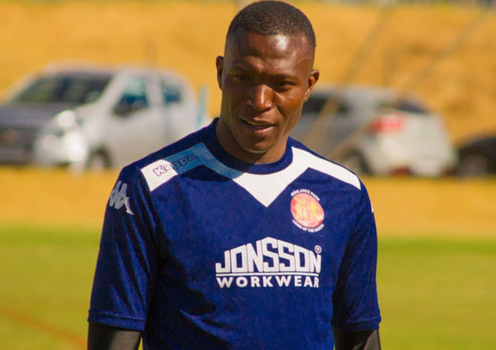SOUTH Africa: Tendai Ndoro happy to be back on the pitch