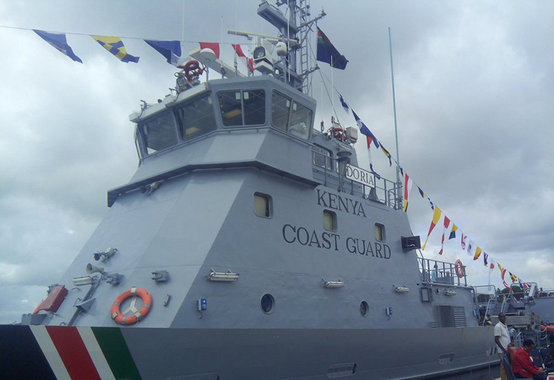 Kenya launches 'one-boat'  coastguard