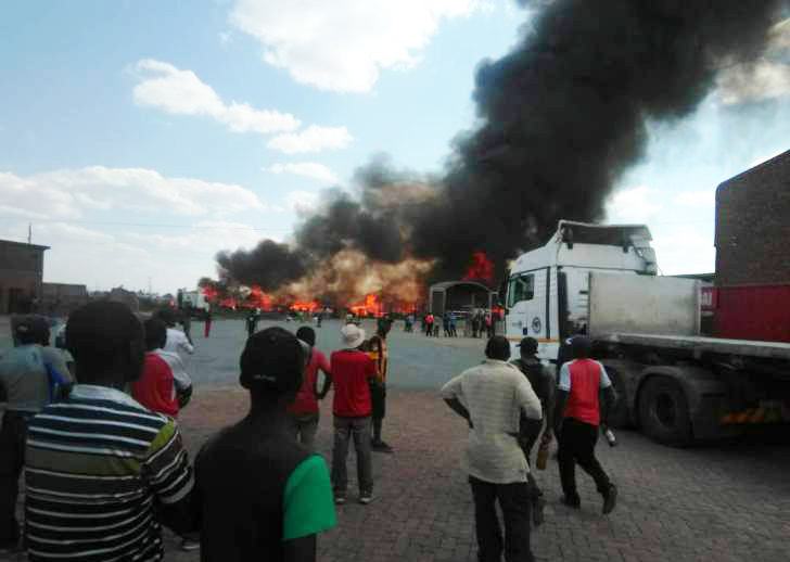 Informal traders hit hard as Harare complex gutted by fire