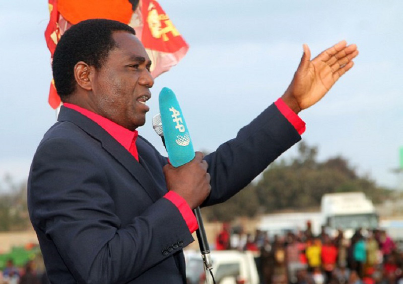 Zambian police quiz opposition leader over attacks on Chinese