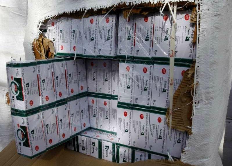 Half a billion painkiller shipment seized by Nigerian authorities