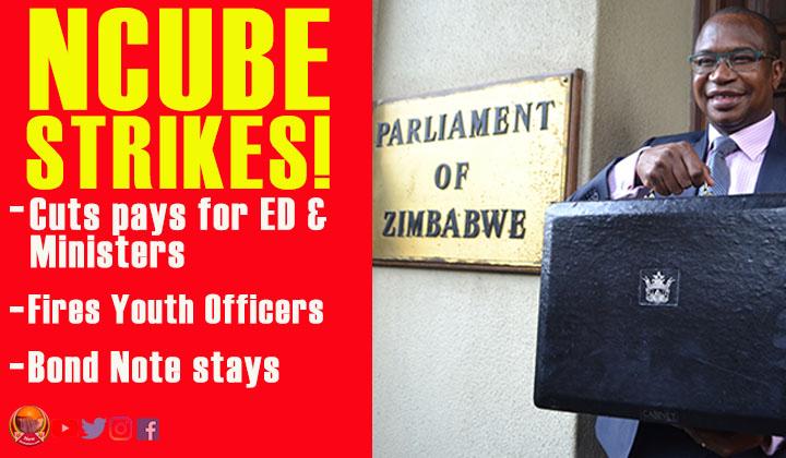 Ncube's delicate balancing act; trims bonus, culls embassies, no pay rise for civil servants