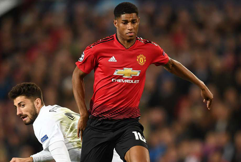 Rashford strike lifts Solskjaer's surging Man Utd into fifth