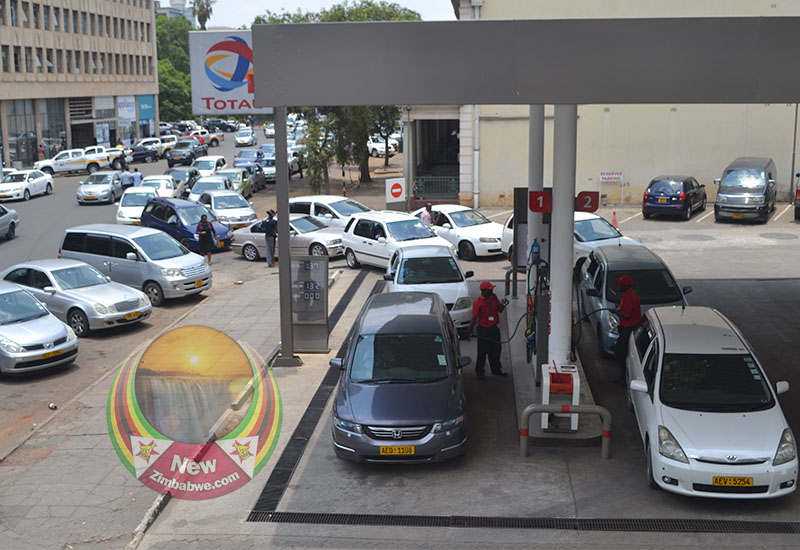 Fuel queues resurface as minister blames protests for slow supplies