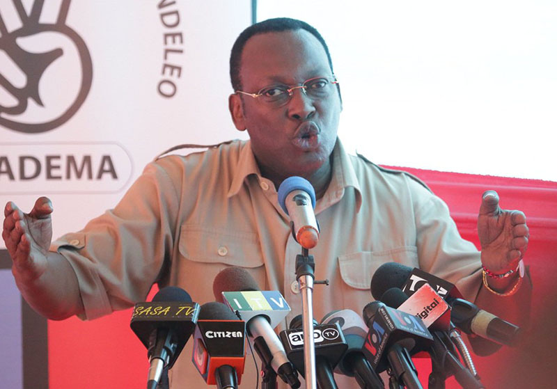 Tanzania's opposition head arrested