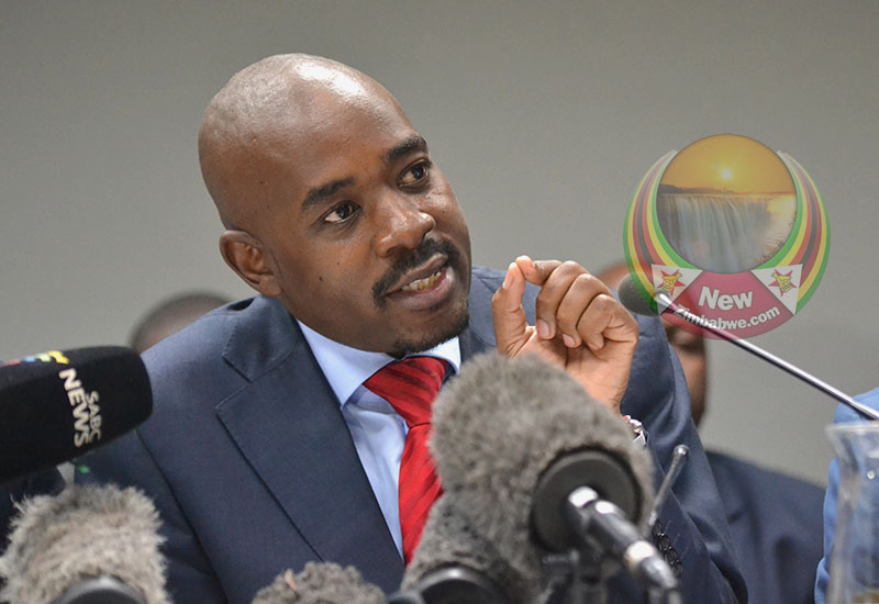 Chamisa demands face to face meeting with Mnangagwa
