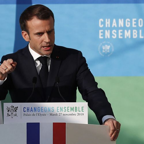 FRANCE President: Poor people must just stop 'messing around'
